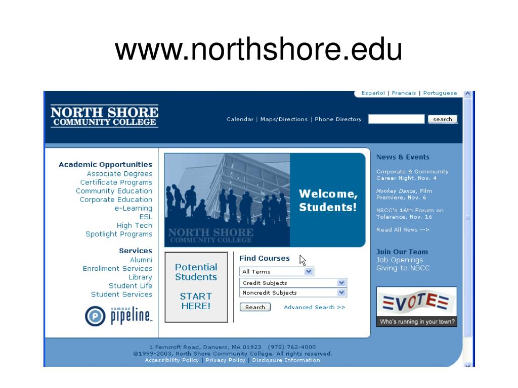 www.northshore.edu