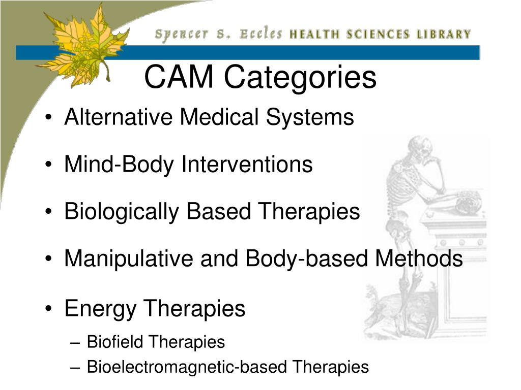 CAM Categories