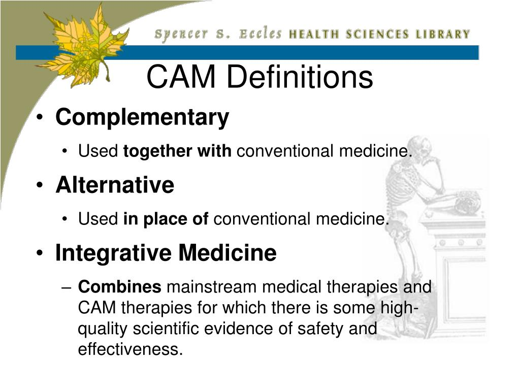 CAM Definitions