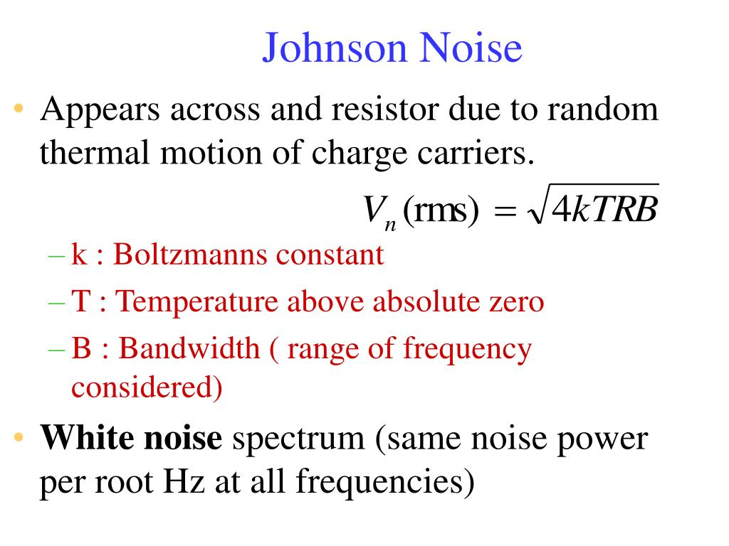 Johnson Noise