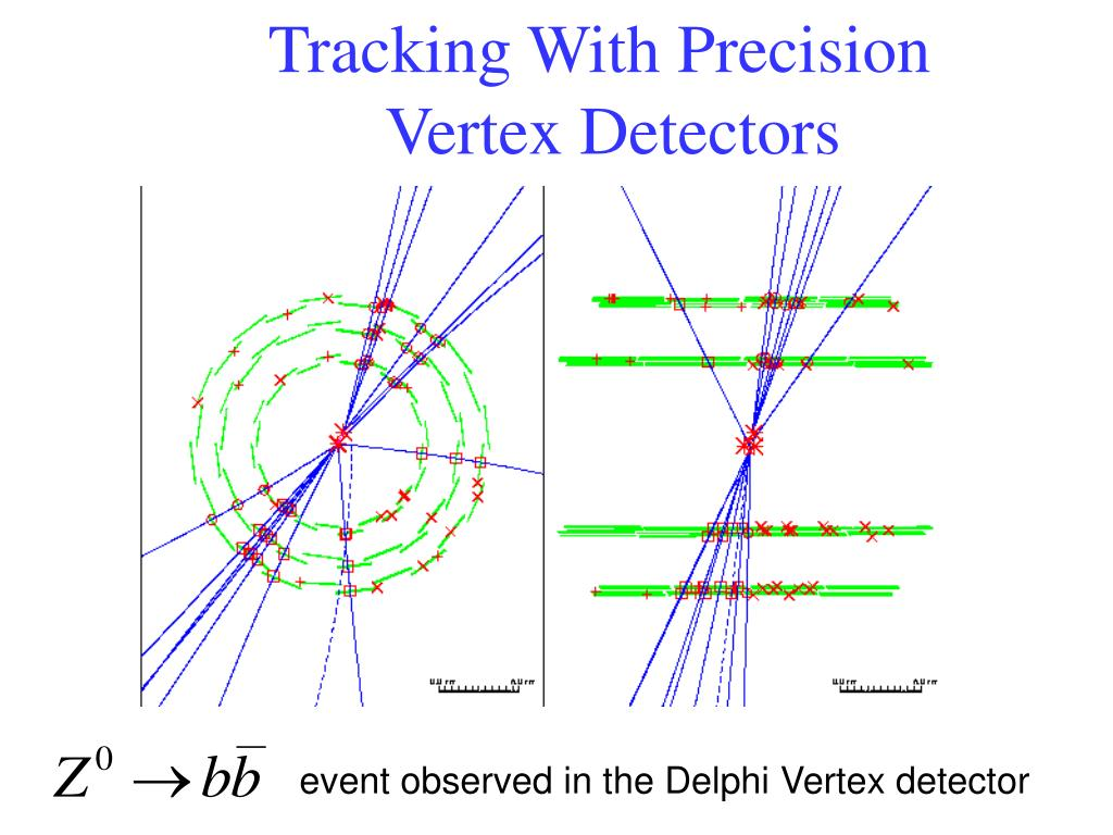 Tracking With Precision Vertex Detectors