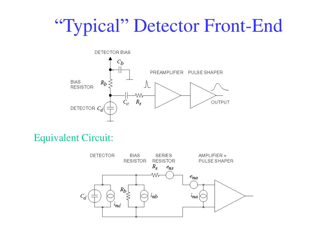 """Typical"" Detector Front-End"