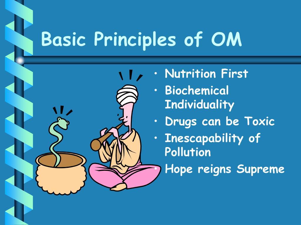 Basic Principles of OM