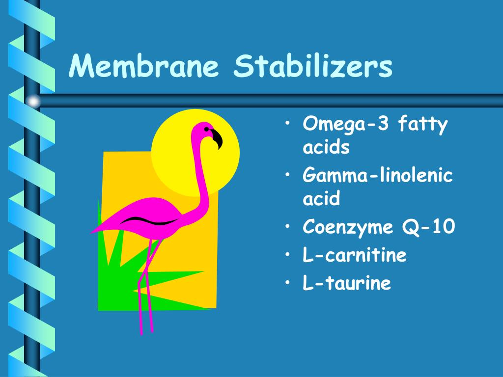 Membrane Stabilizers
