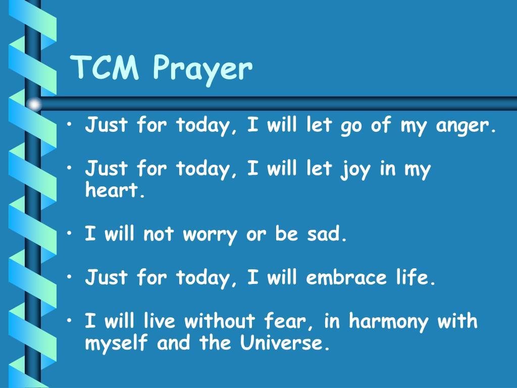 TCM Prayer