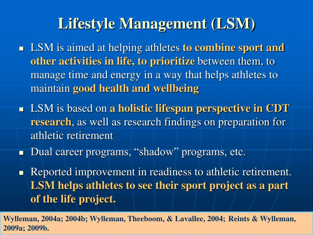 Lifestyle Management (LSM)