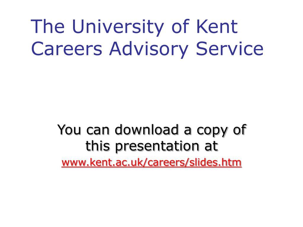 The University of Kent