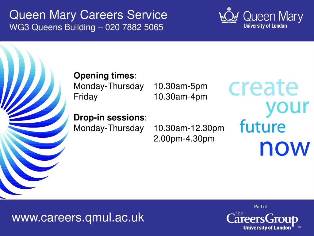 Queen Mary Careers Service