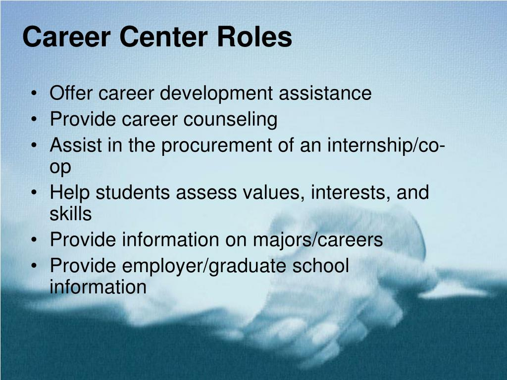 Career Center Roles
