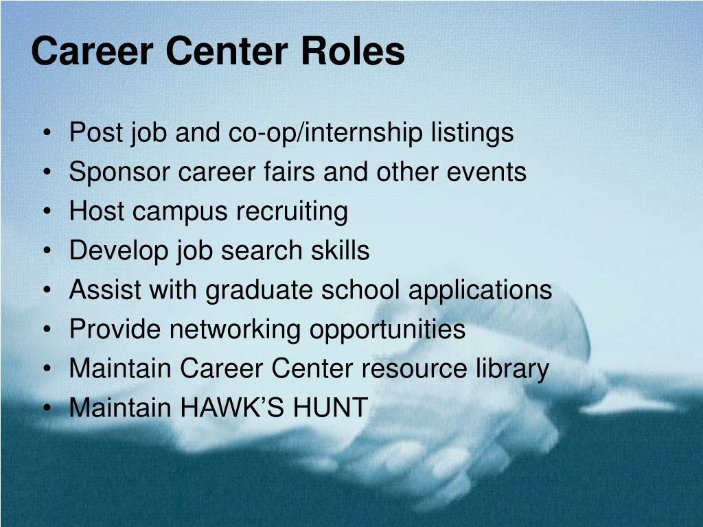 Career Center Roles