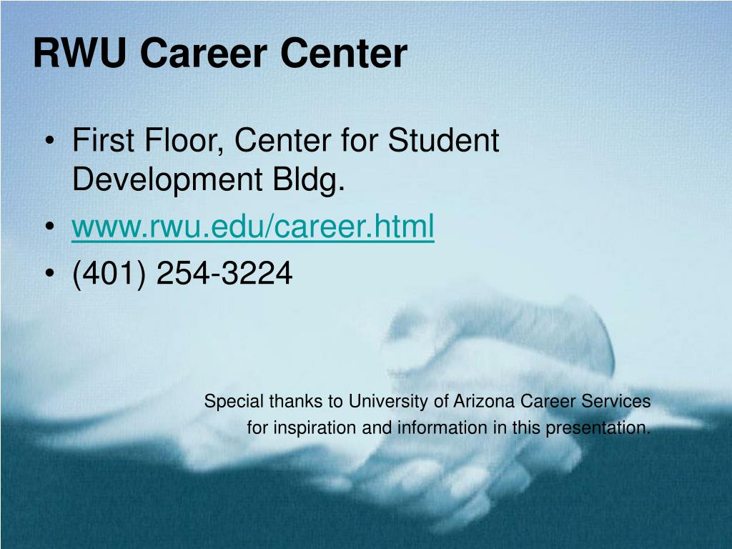 RWU Career Center