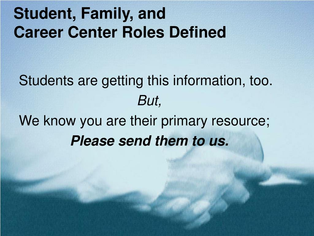 Student, Family, and