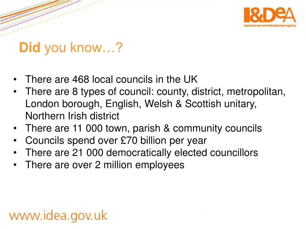 There are 468 local councils in the UK