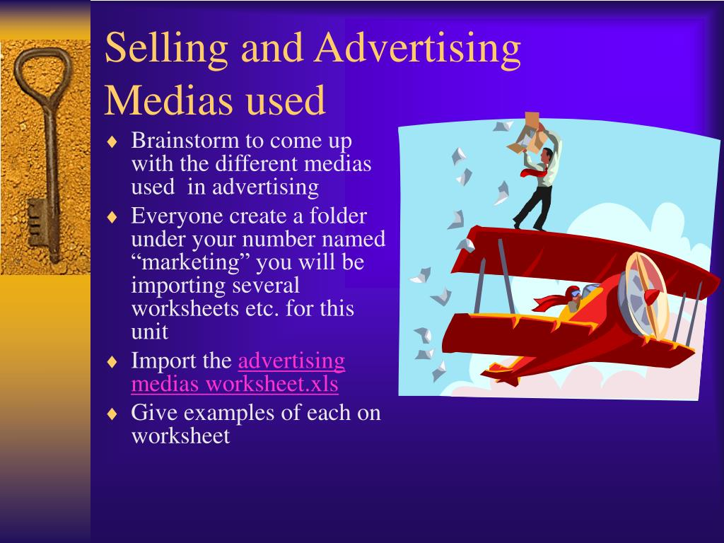 Selling and Advertising