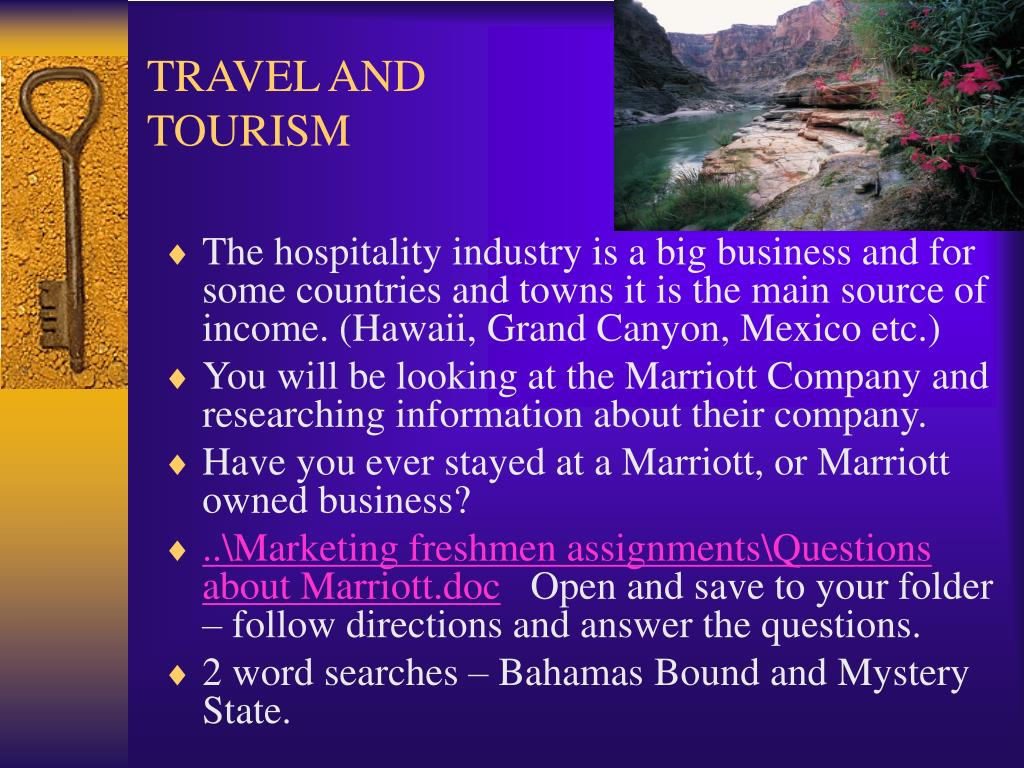 TRAVEL AND