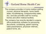 gerland home health care