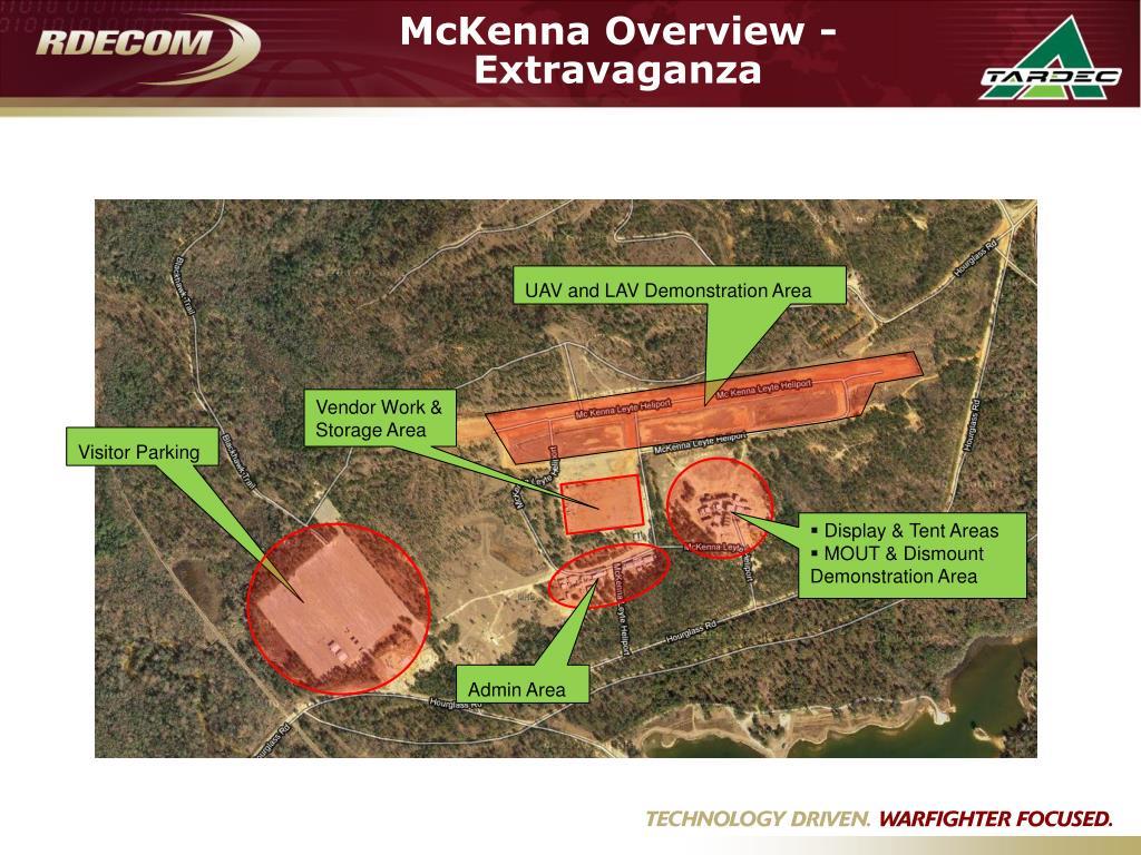 McKenna Overview - Extravaganza
