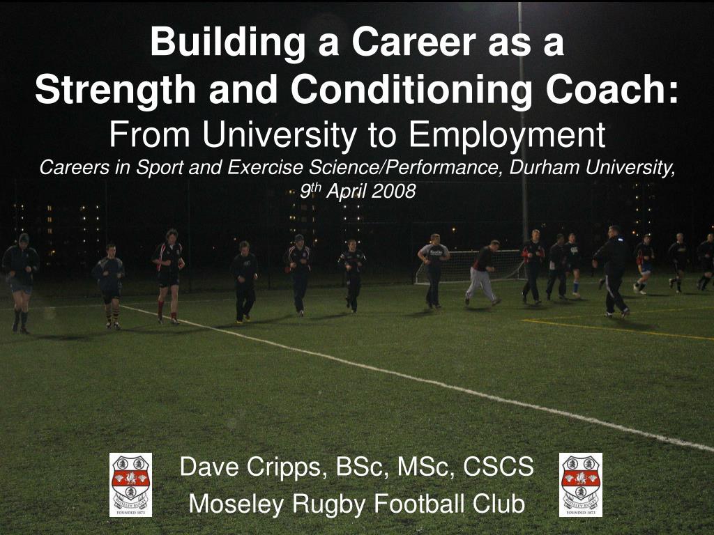 Building a Career as a