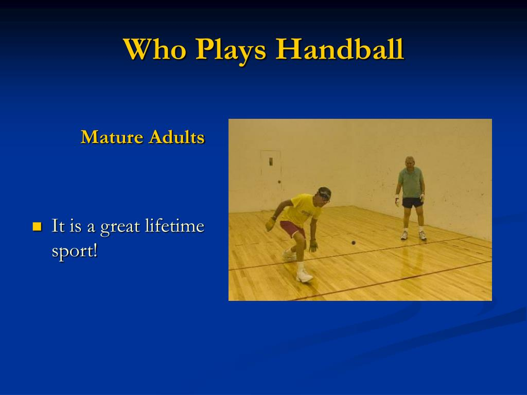 Who Plays Handball