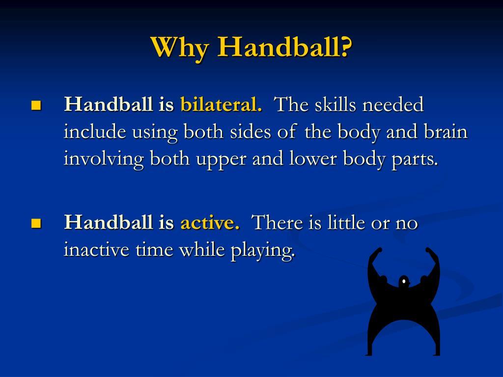 Why Handball?