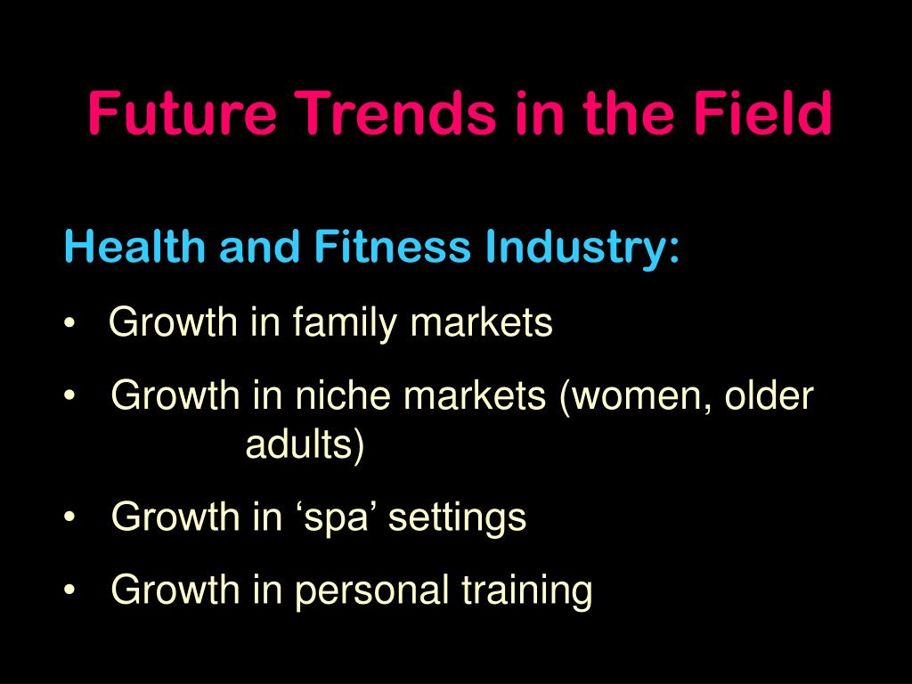 Future Trends in the Field