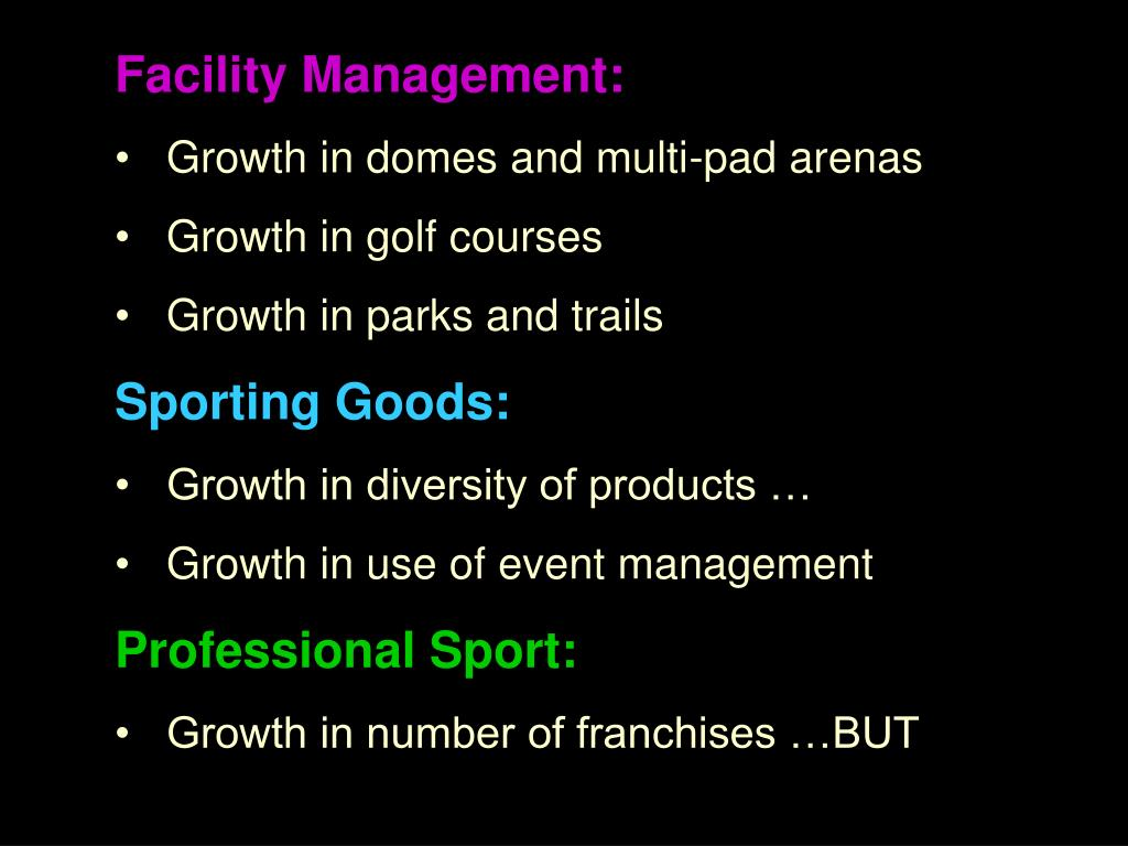 Facility Management:
