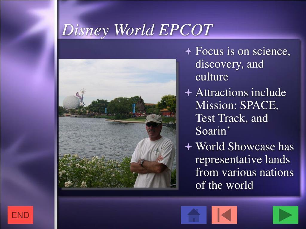 Disney World EPCOT