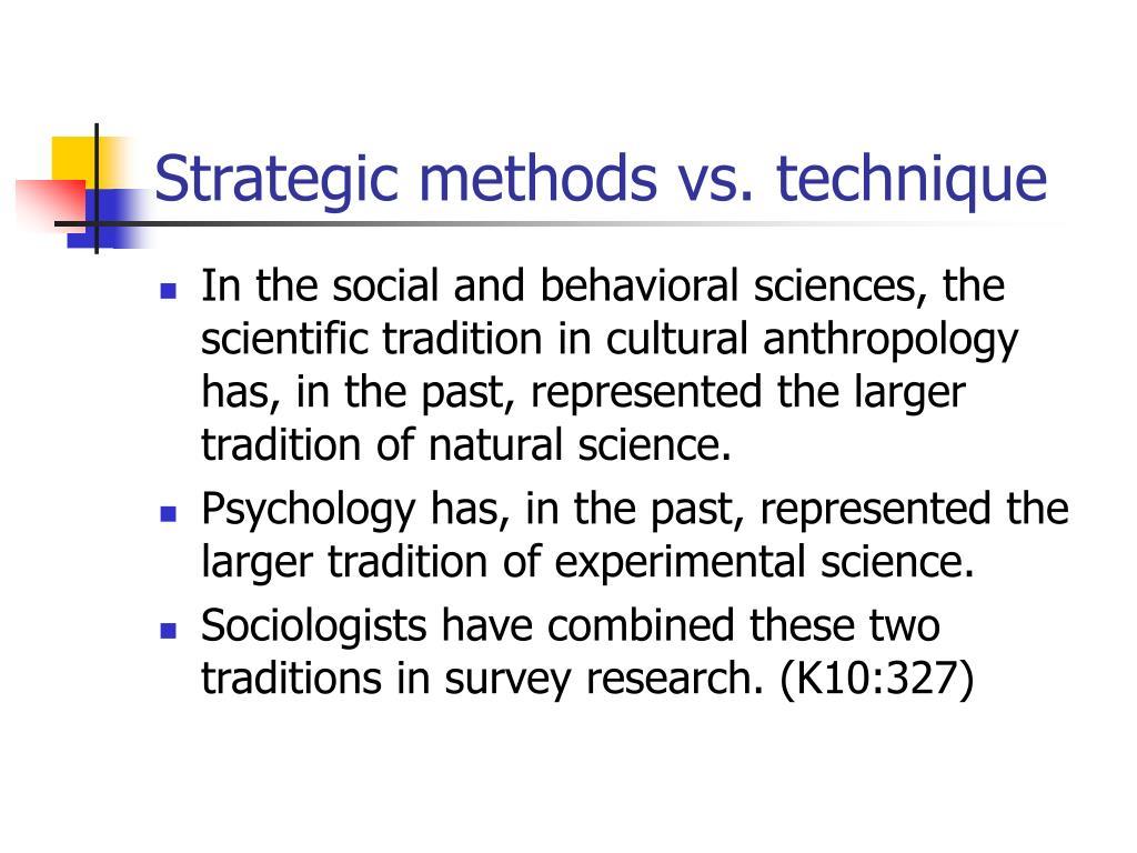 Psychology Natural Science Vs Social Science