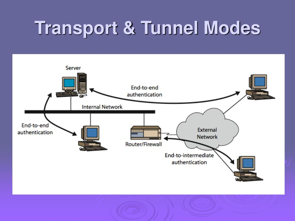Transport & Tunnel Modes