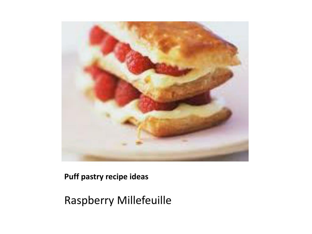 Puff pastry recipe ideas