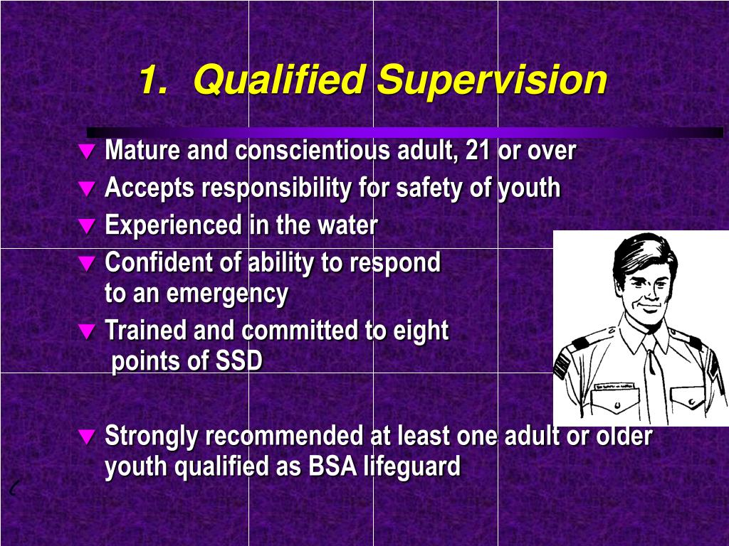 1.  Qualified Supervision
