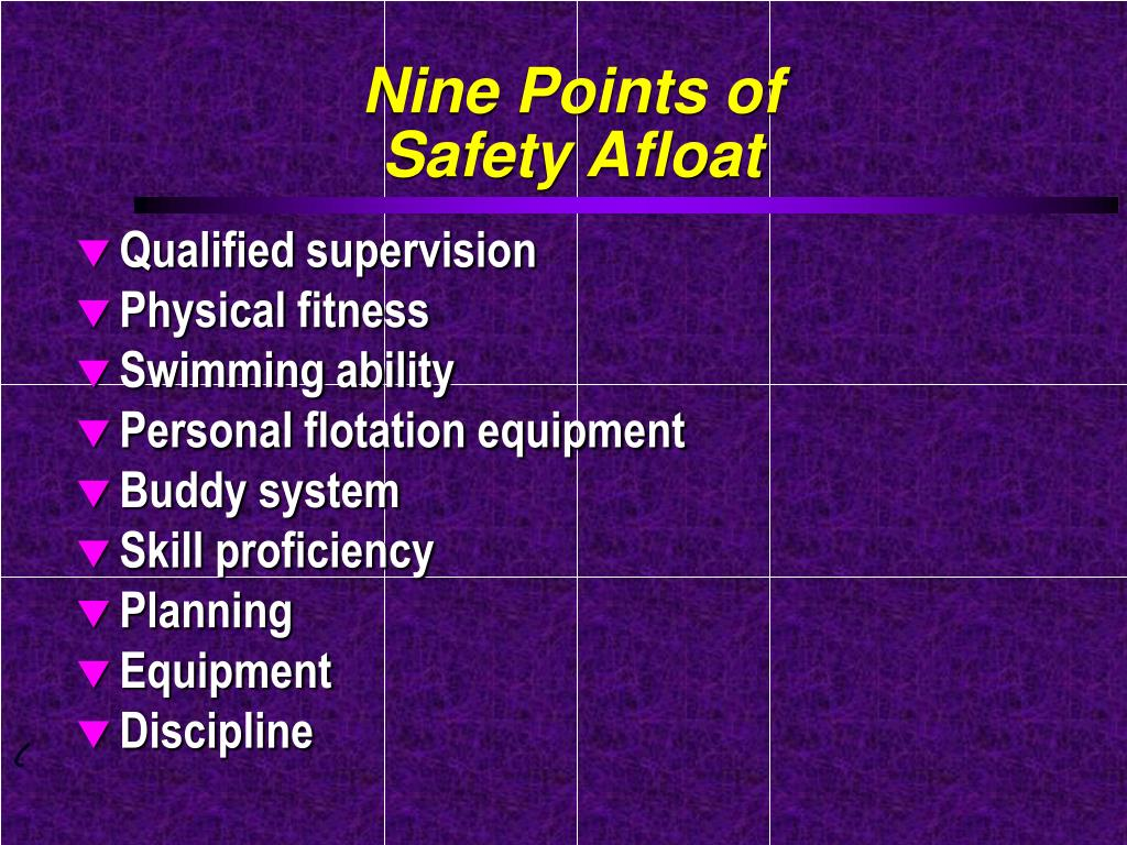 Nine Points of