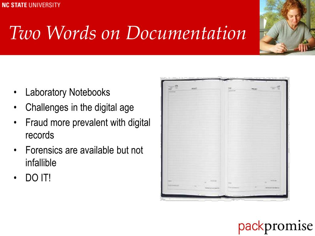 Two Words on Documentation