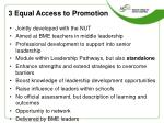 3 equal access to promotion