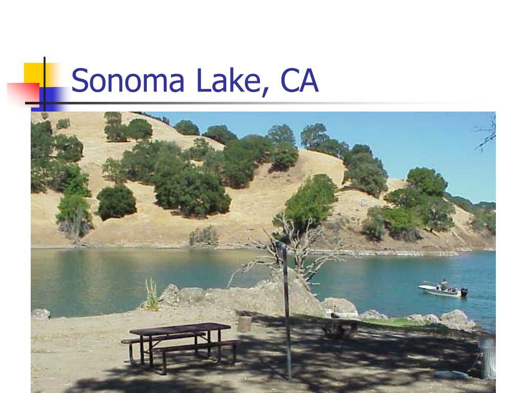 Sonoma Lake, CA