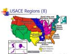 usace regions 8