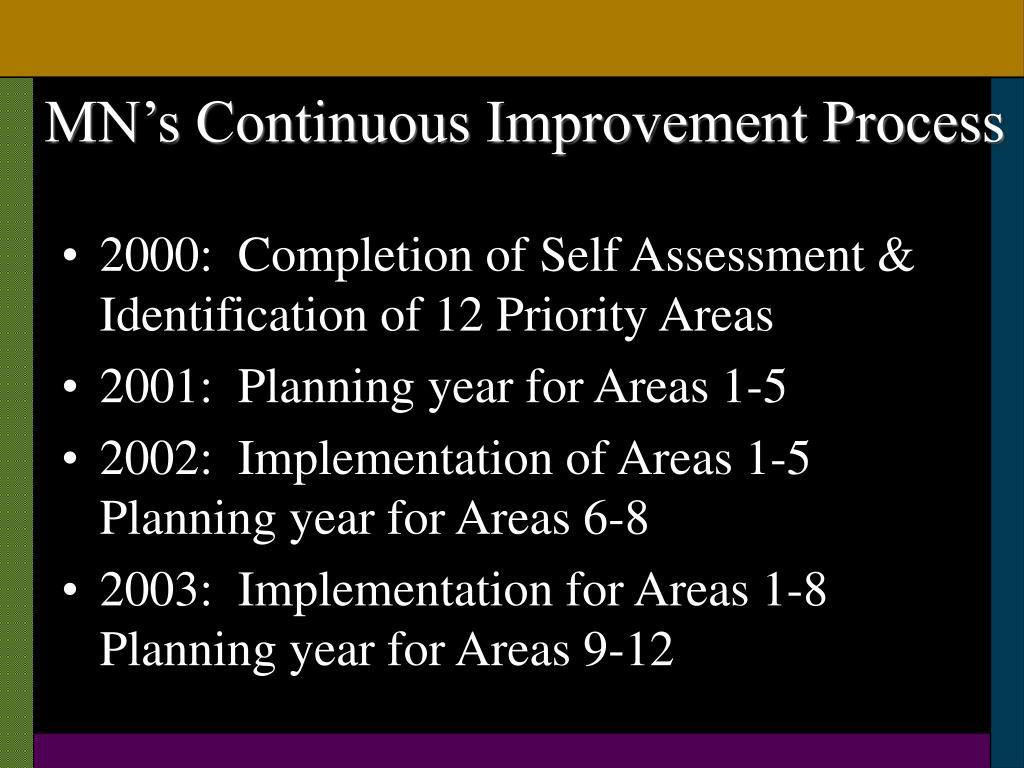 MN's Continuous Improvement Process