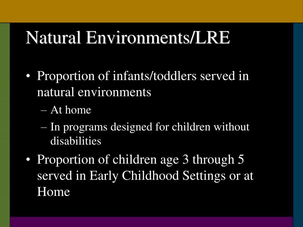 Natural Environments/LRE