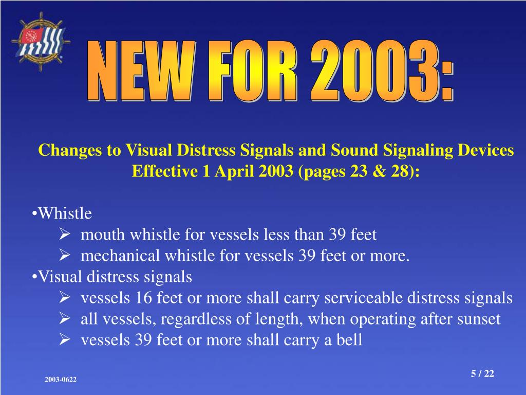 NEW FOR 2003: