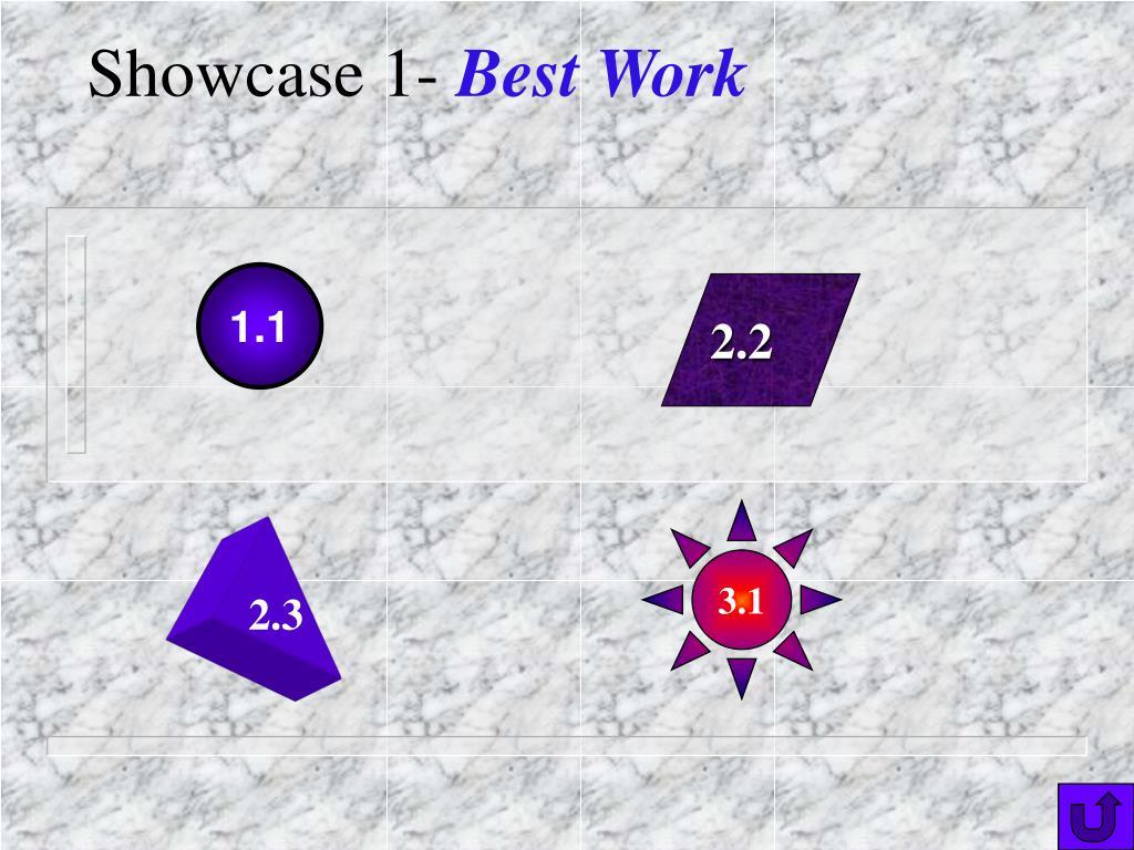 Showcase 1-