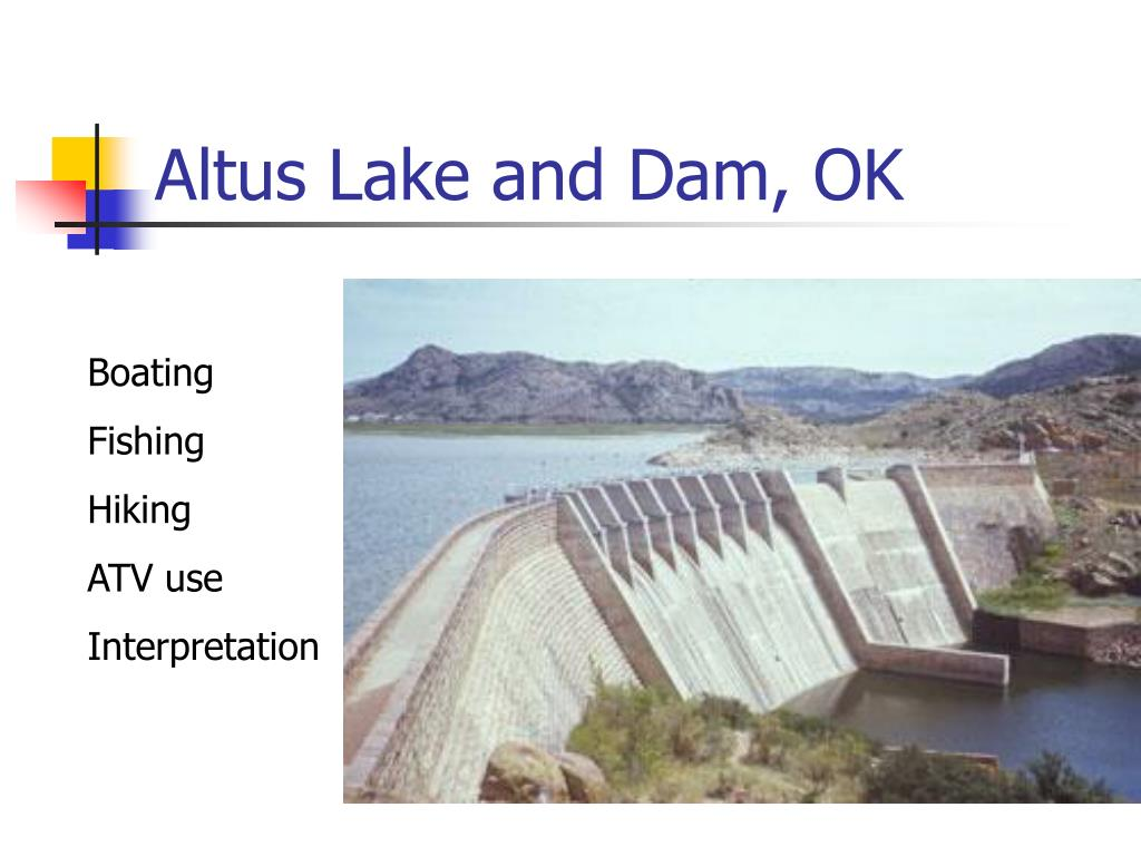 Altus Lake and Dam, OK