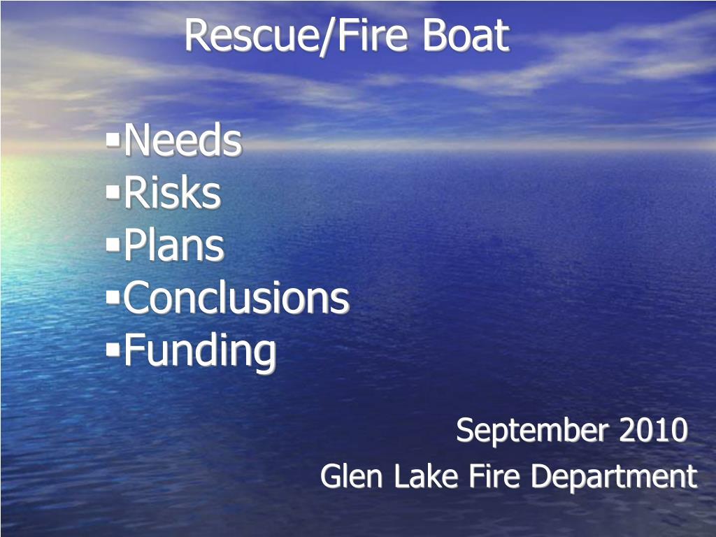 Rescue/Fire Boat