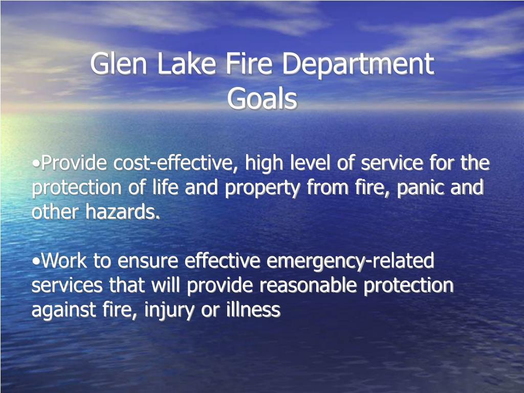 Glen Lake Fire Department
