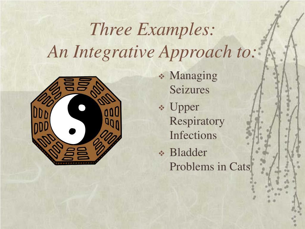 Three Examples:
