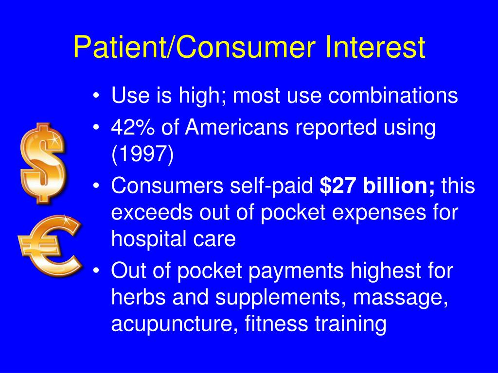 Patient/Consumer Interest