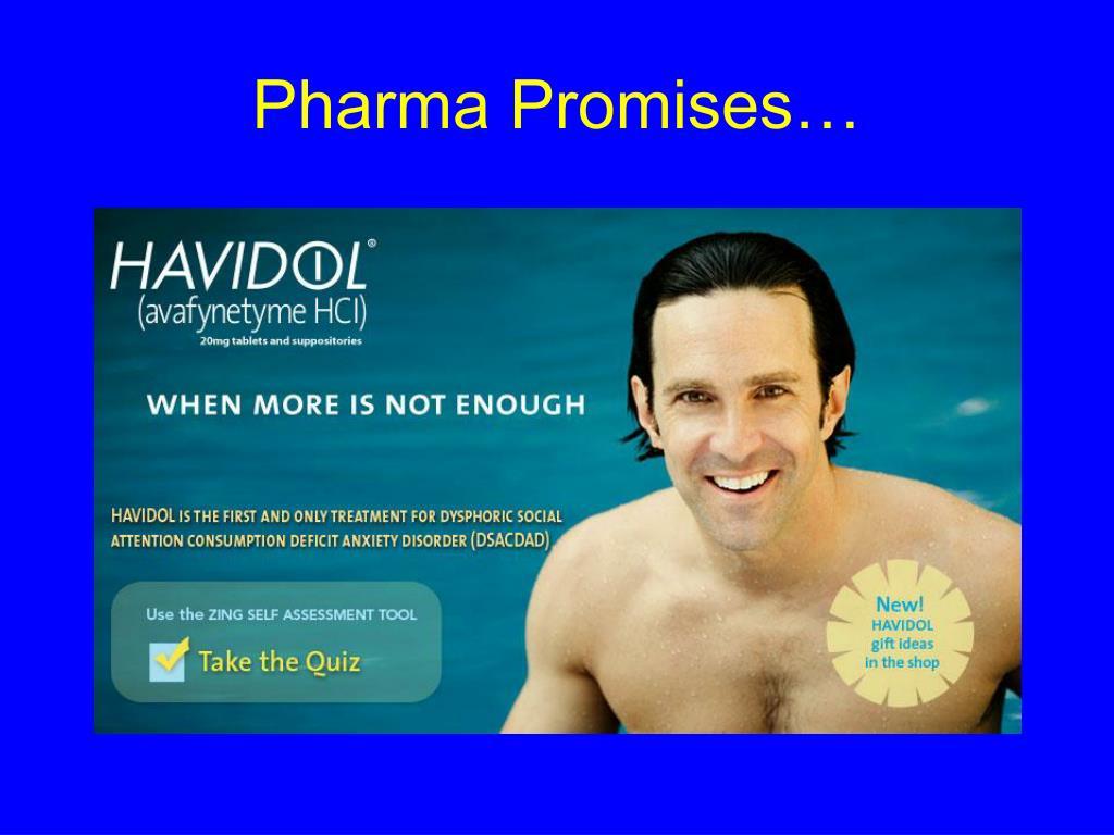 Pharma Promises…