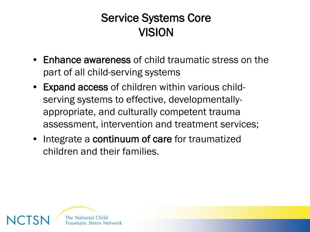 Service Systems Core