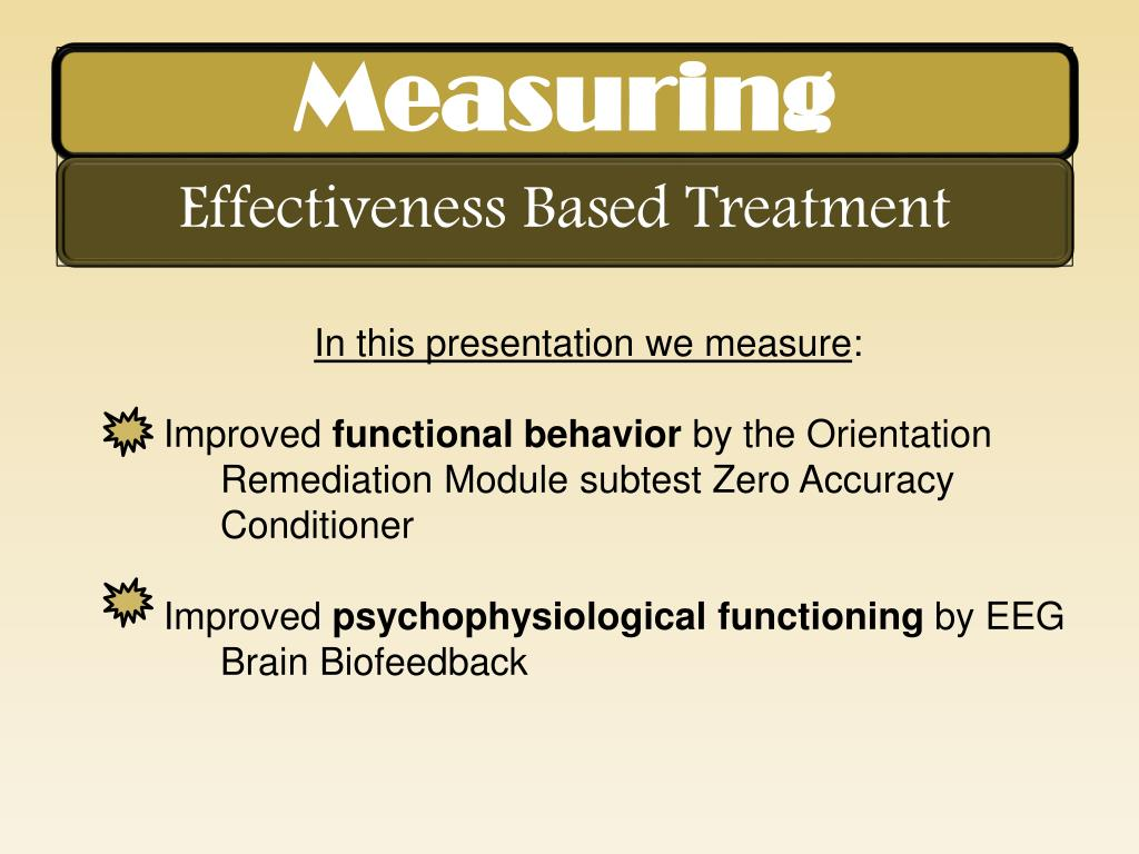 In this presentation we measure