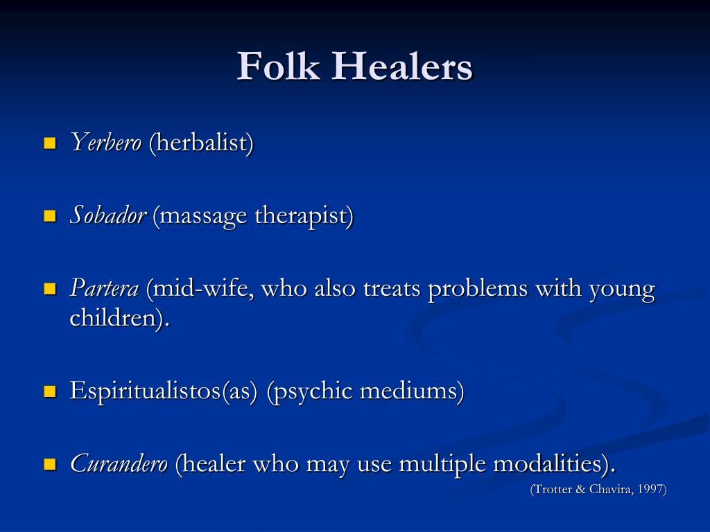 Folk Healers