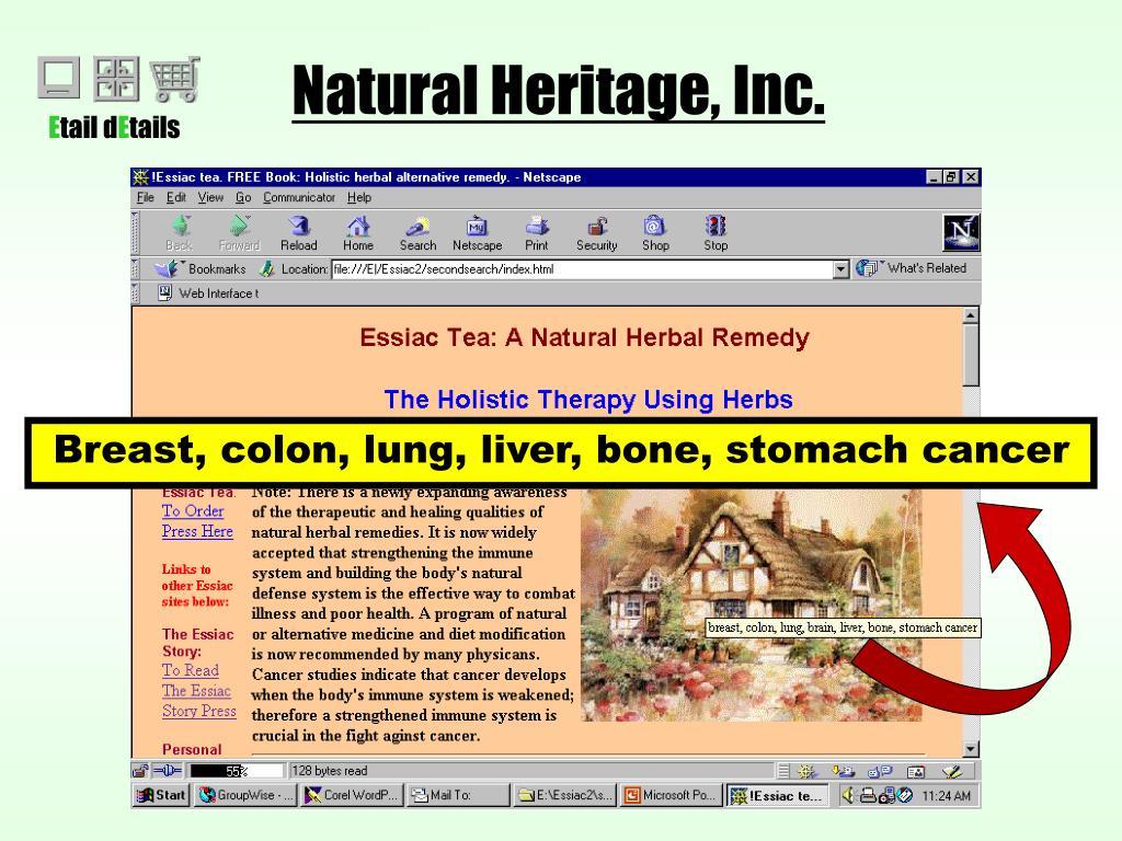 Natural Heritage, Inc.